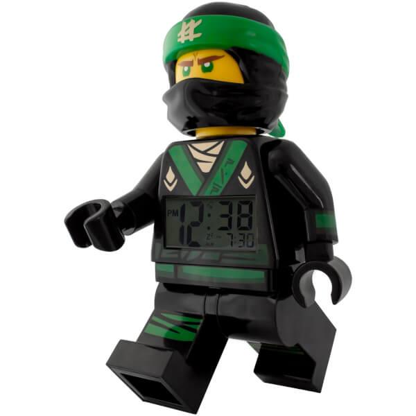 LEGO The Ninjago Movie Lloyd Minifigure Clock Gifts Zavvi