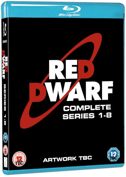 Red Dwarf Series 1 8 Boxset Blu Ray Zavvi