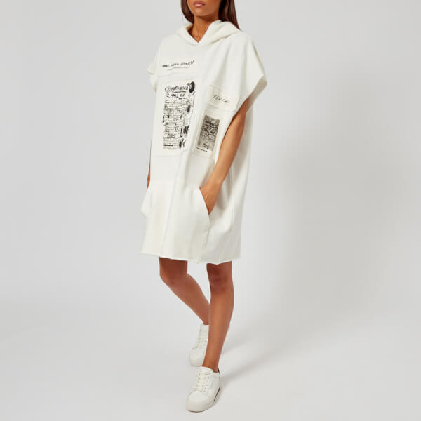 MM6 Women's Basic Sweat Top - Off White