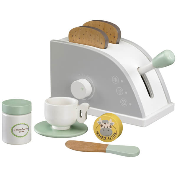 Kids Concept Toy Toaster Set