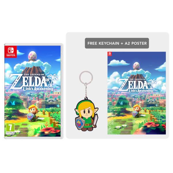 The Legend of Zelda: Link's Awakening + Keychain Pack: Image 01