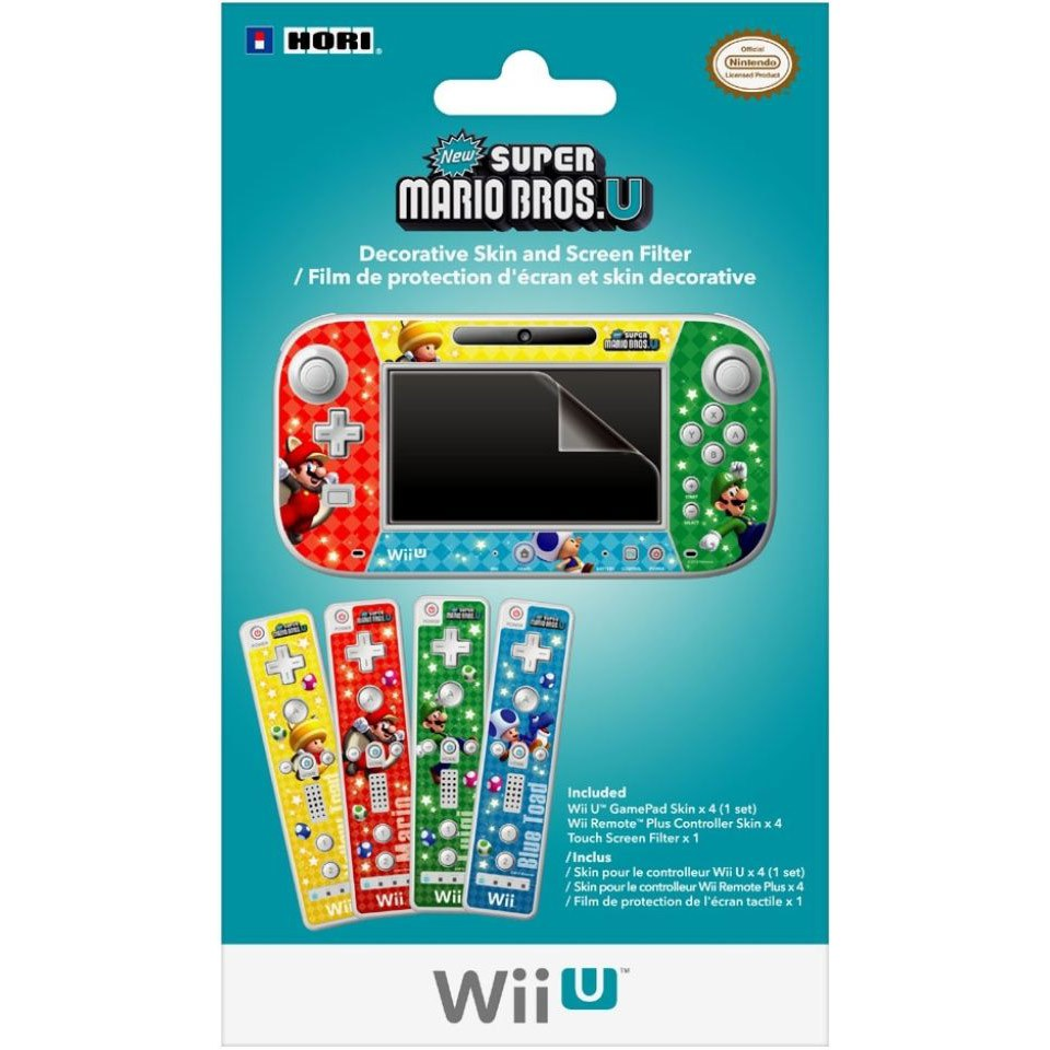 Mario Skin And Filter Set For Wii U Nintendo Official UK