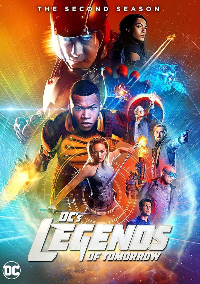 DC Legends Of Tomorrow Season 2 Blu Ray Zavvi