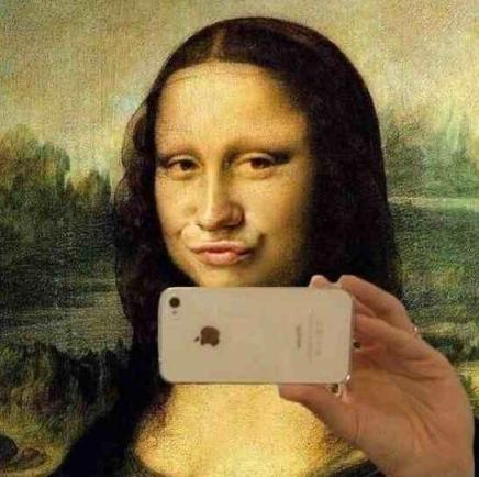 Image result for mona lisa edited