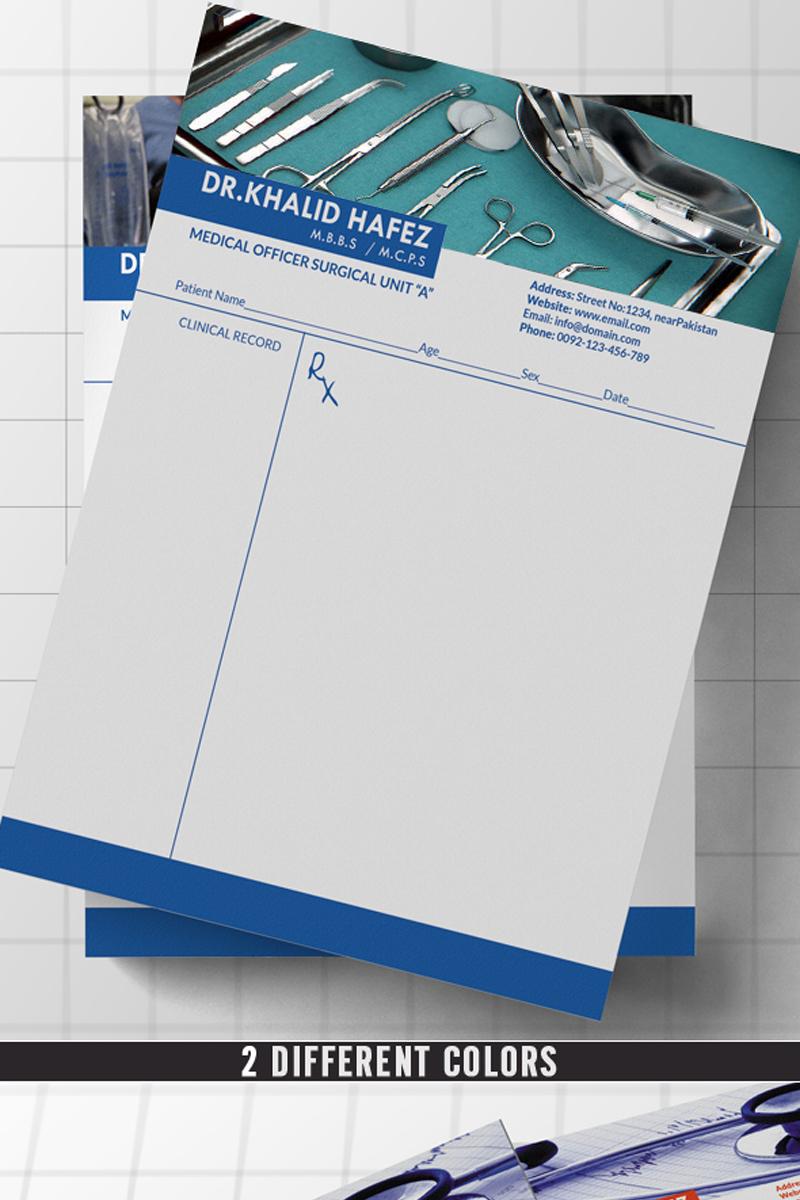 DoctorHospital Letterhead Corporate Identity Template 70523