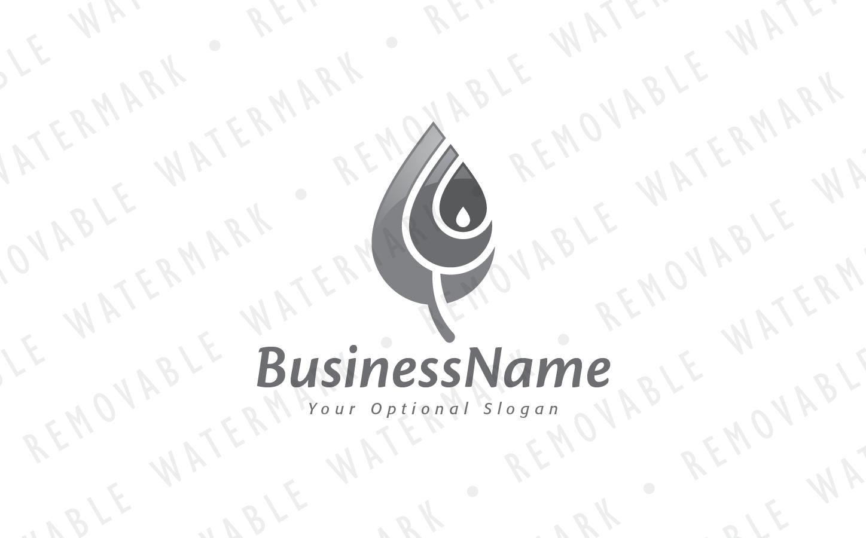Renewable Energy Leaf Logo Template #65942