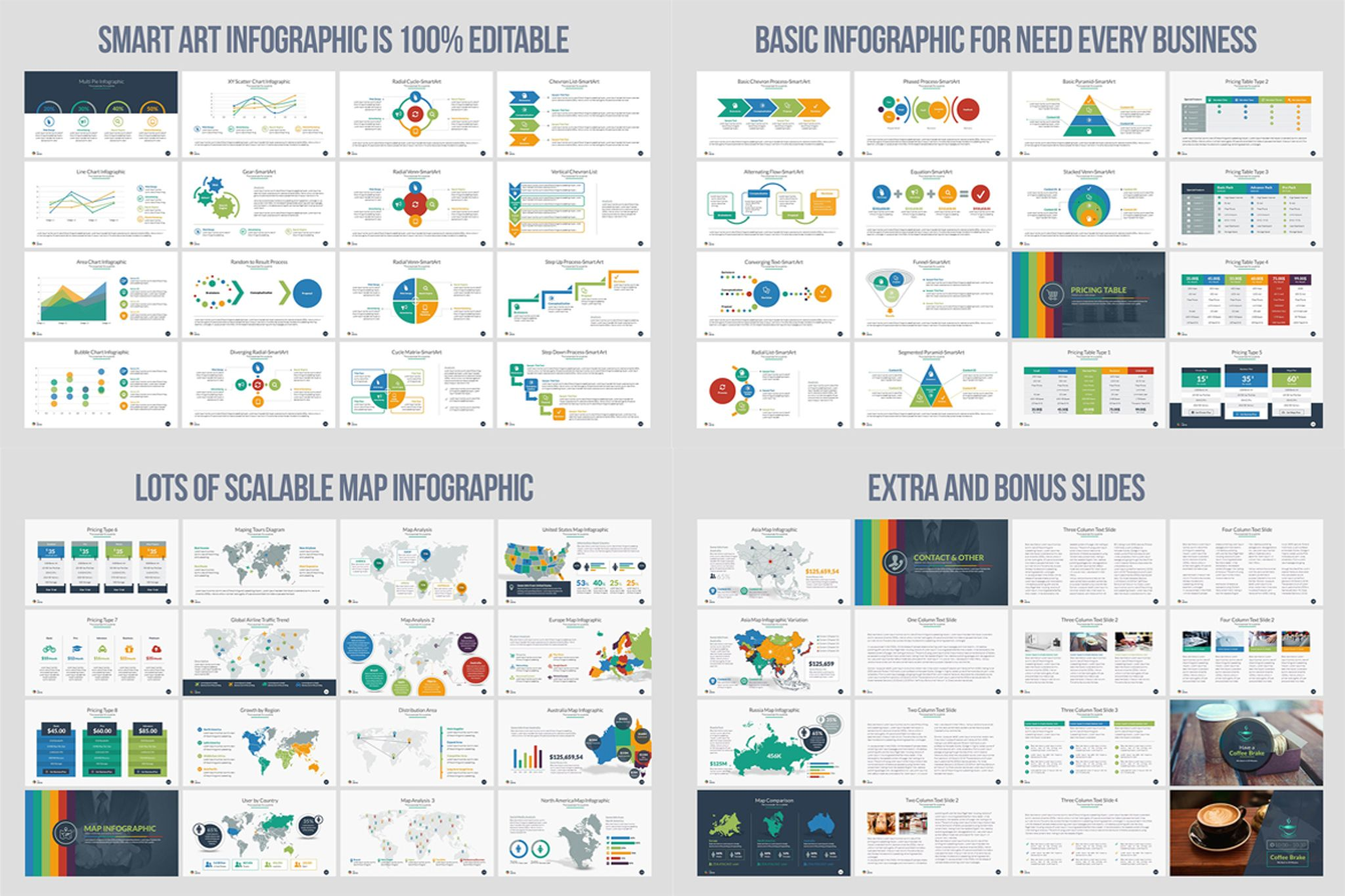 Business Infographic Powerpoint Presentation Template Powerpoint Template  Big Screenshot
