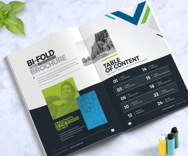 Business Brochure Design Template Indesign