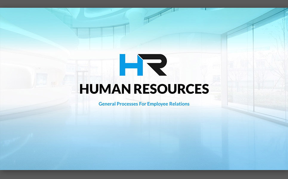 HR Process PowerPoint Template 64735