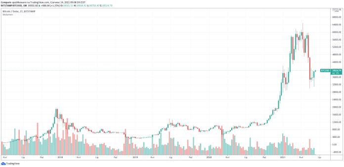 Elon Musk: Tesla sprzedała tylko 10% bitcoinów. Możliwe, że wróci do płatności BTC