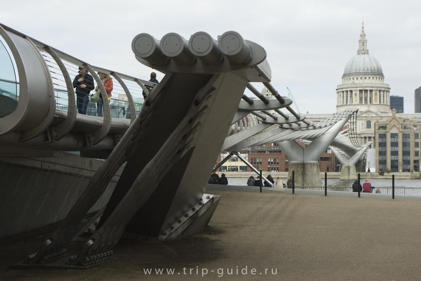 Мост Миллениум в Лондоне: как инженерная ошибка едва не привела к трагедии