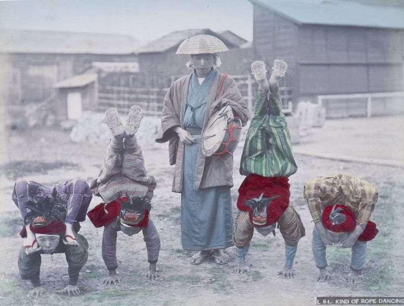 Бесценные старинные фото показывают, как жили японцы в 1890-х