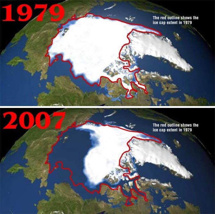 Самый пугающий и грустный #10YearChallenge: что произошло с нашей планетой за 10 лет