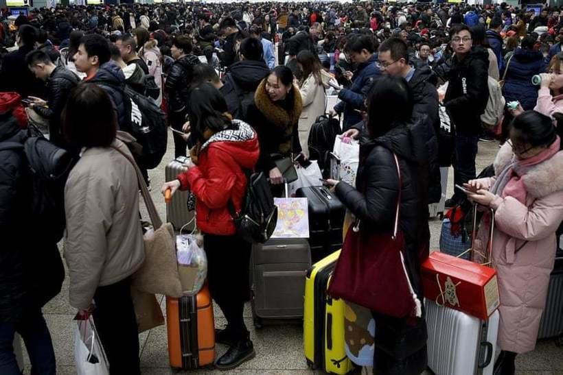 Великое перемещение людей: как китайцы едут на Новый год