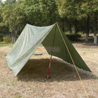 Large Waterproof Military Camping Tarp Awning Trail Tent ...