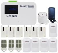 H31 IOS/Android APP GSM Wireless Wired Home Security Alarm ...