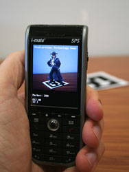Augmented Reality on i-mate SP5