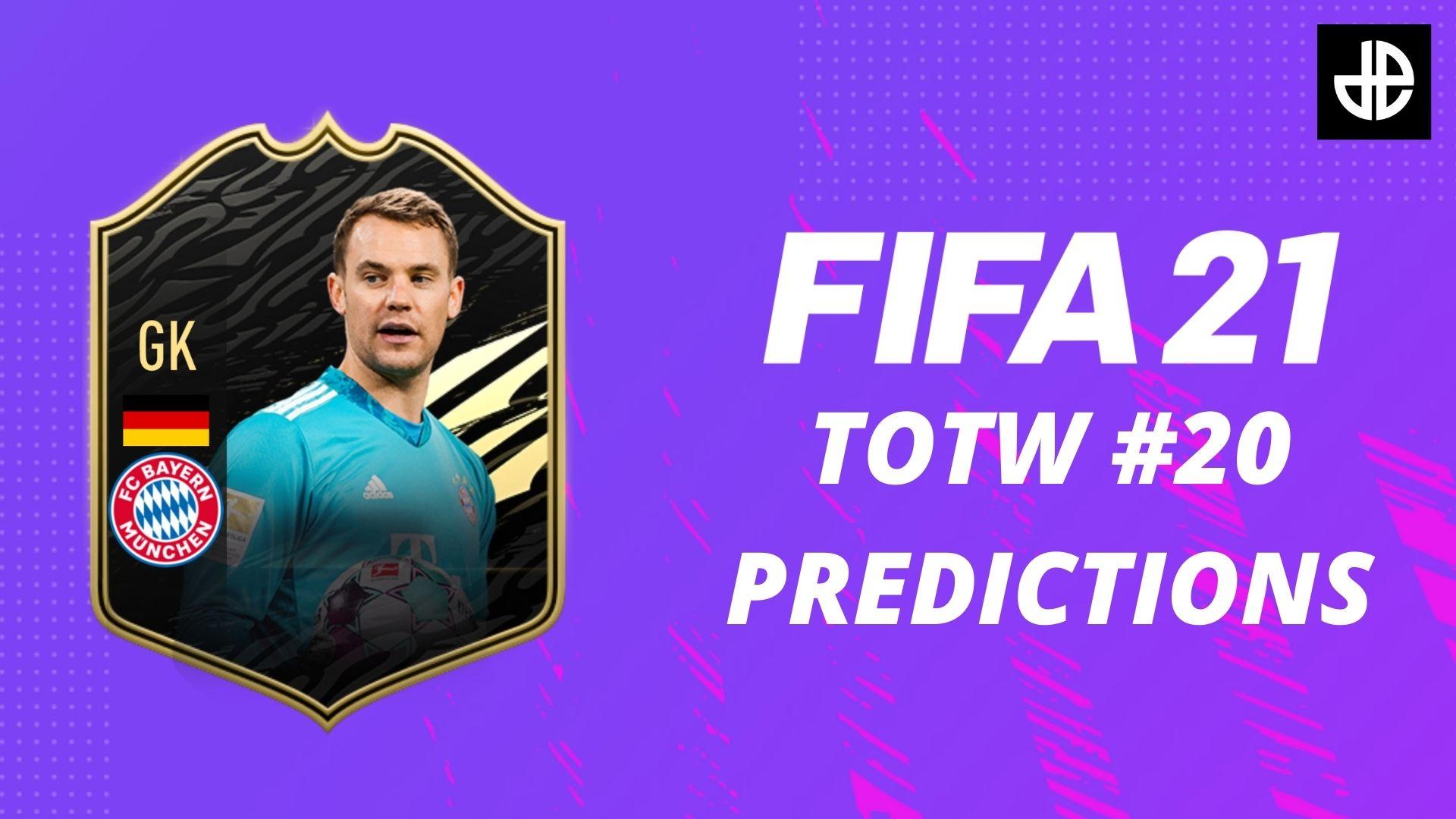 fifa 21 totw 20 predictions neuer