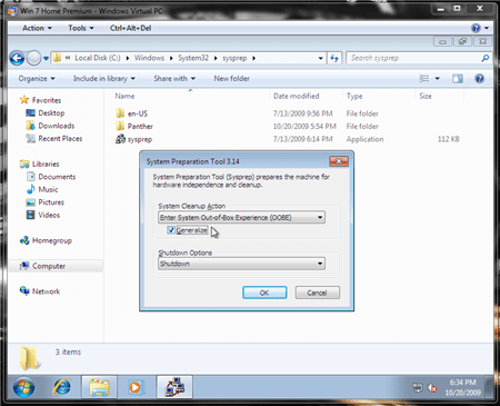 Sysprep boot from vhd boot vhd windows virtual pc