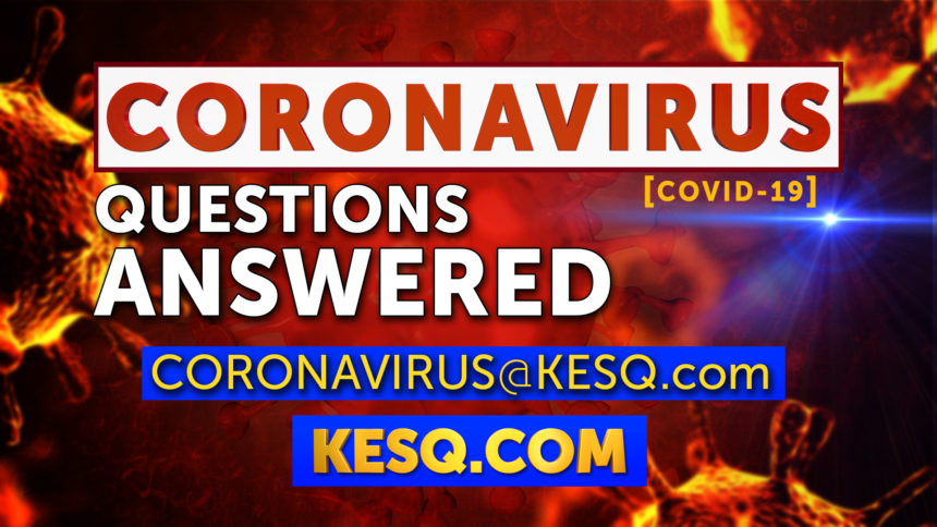 WATCH LIVE: Coronavirus Questions Answered - KESQ