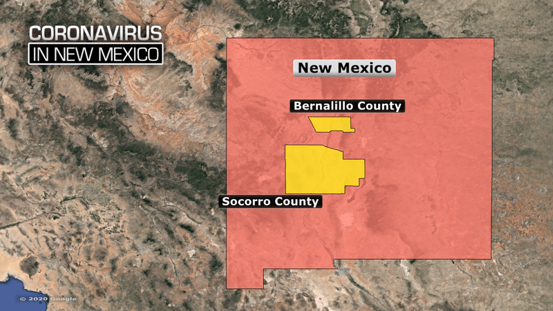 4 New Mexico residents now test positive for coronavirus; governor ...