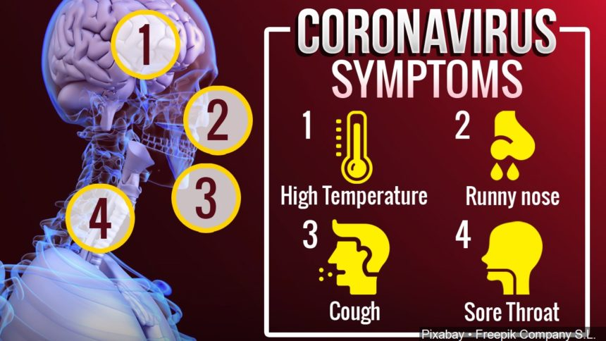 Coronavirus symptoms usually take 5 days to appear, study says - KYMA