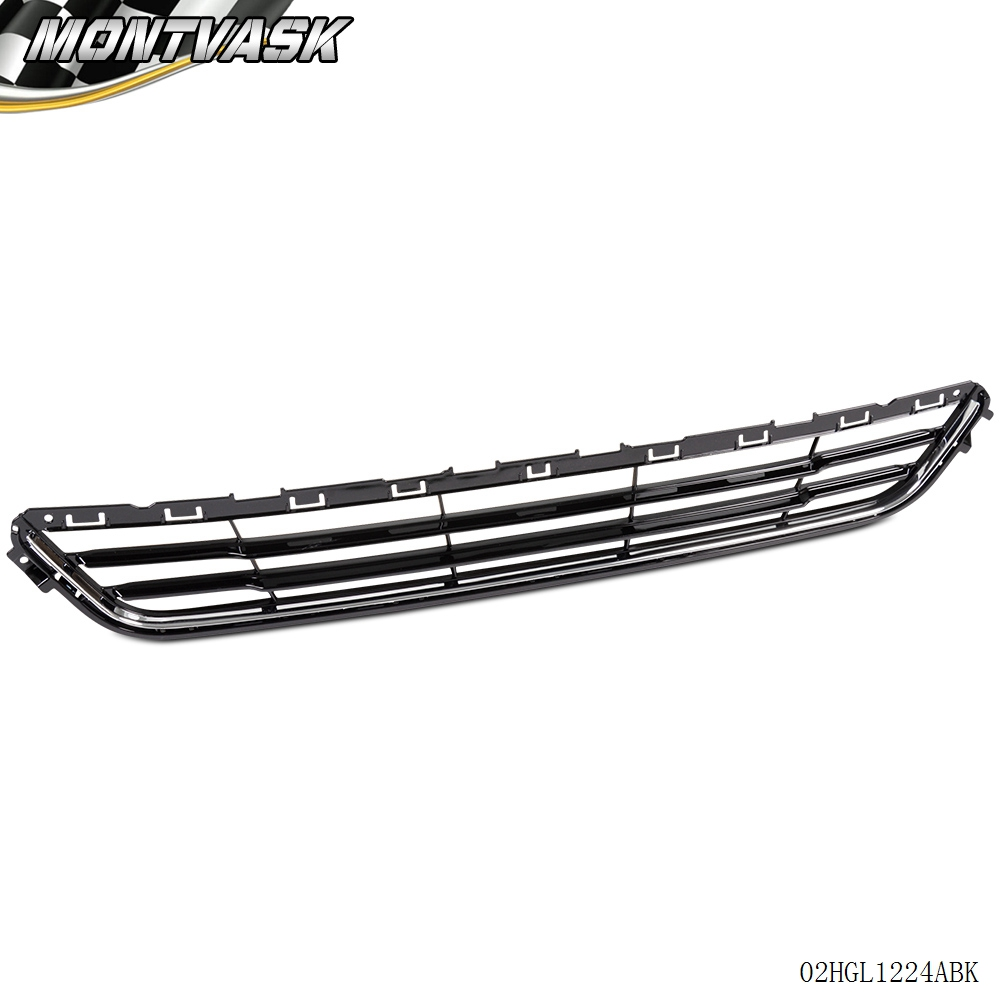 Front Bumper Face Bar Lower Grille Grill Assembly For Ford