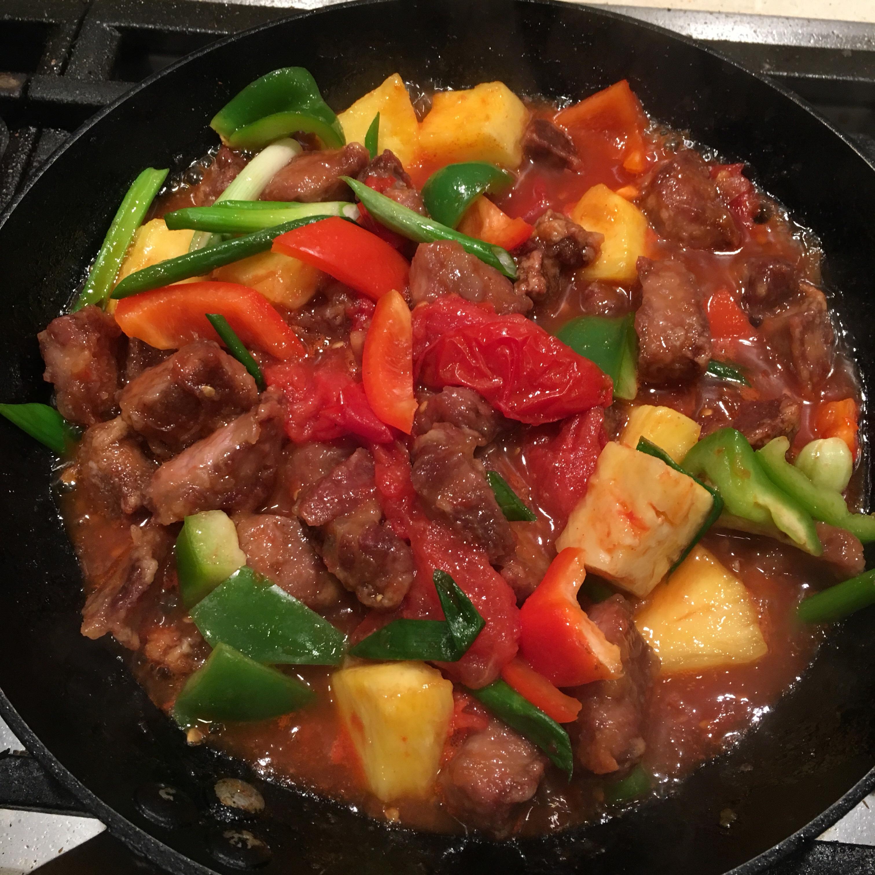 低脂 生炒骨 / 咕嚕肉 – 廚房筆記
