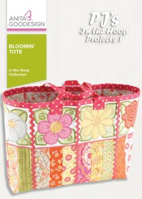 PJ's in the Hoop: Bloomin' Tote | Machine Embroidery Design