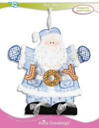 PJ's in the Hoop: Joy Boy | Holiday Embroidery Designs