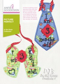 PJ's in the Hoop: Picture Perfect | Machine Embroidery Design