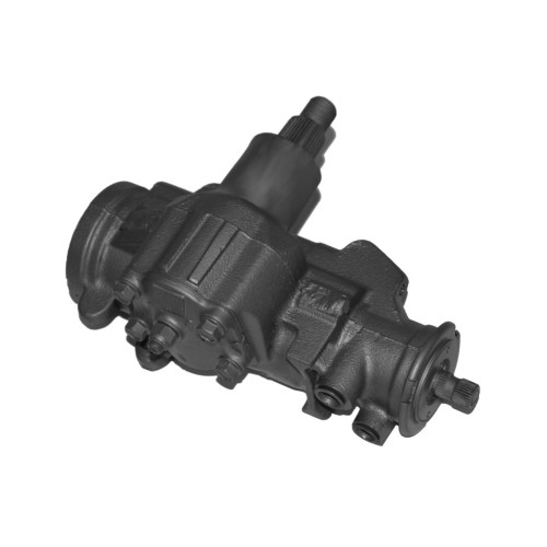 small resolution of complete power steering gearbox assembly