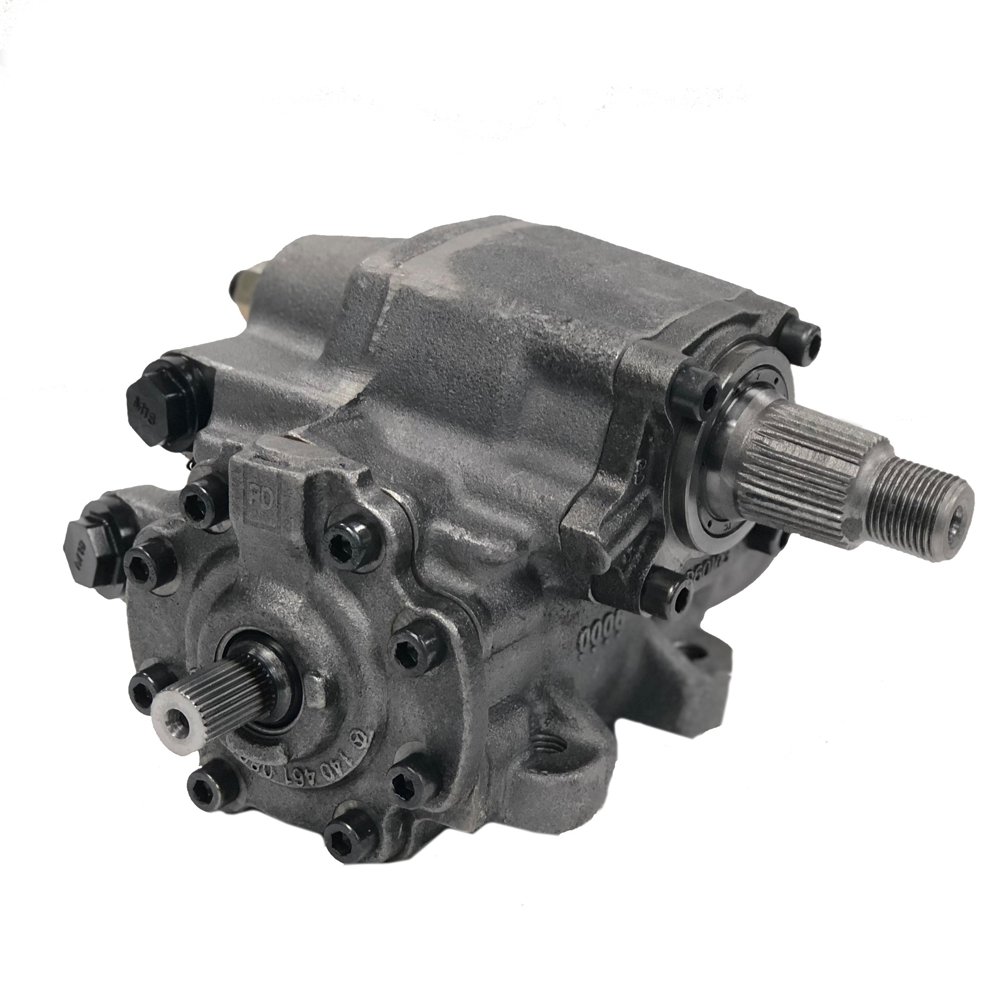 hight resolution of complete power steering gearbox assembly for 03 06 jeep wrangler