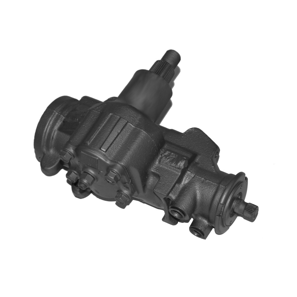 hight resolution of complete power steering gearbox assembly for chevrolet gmc dodge trucks