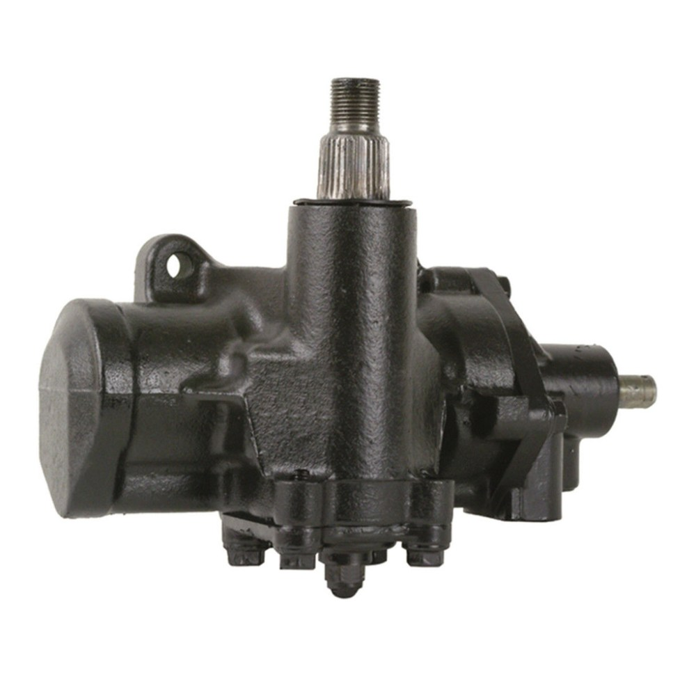 medium resolution of complete power steering gearbox assembly 4 wide splines on sector shaft