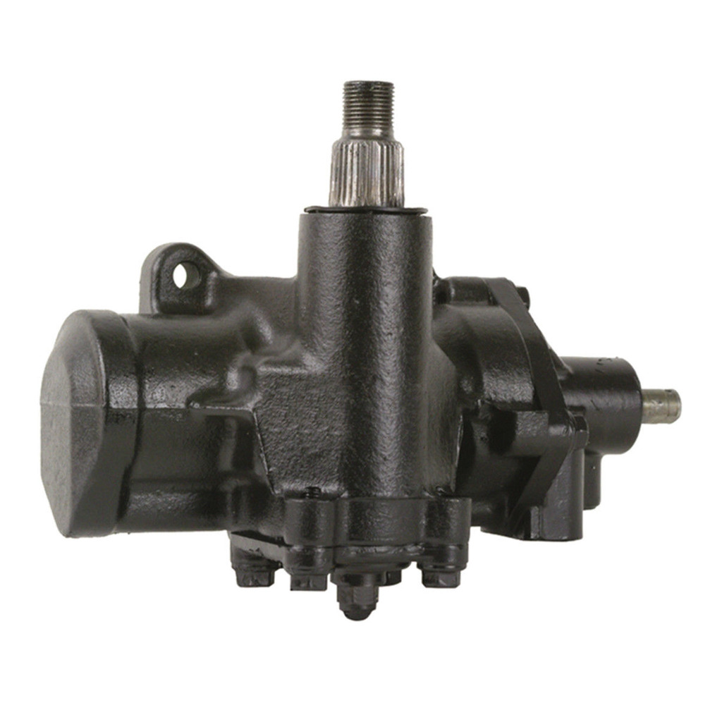 hight resolution of complete power steering gearbox assembly 4 wide splines on sector shaft