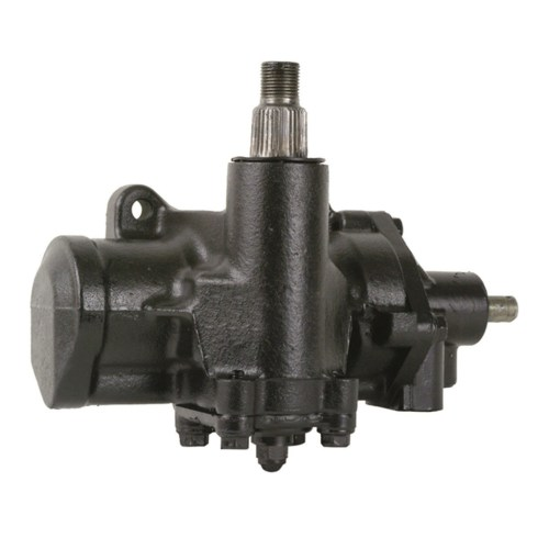 small resolution of complete power steering gearbox assembly 4 wide splines on sector shaft