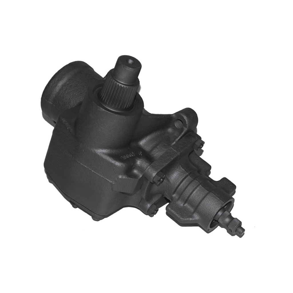 hight resolution of complete power steering gearbox assembly