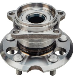 rear wheel hub and bearing assembly left or right side fits awd 2001 2005 [ 1200 x 1200 Pixel ]