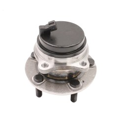 detroit axle rear wheel bearing and hub assembly driver or passenger side for 2015 [ 1200 x 1200 Pixel ]