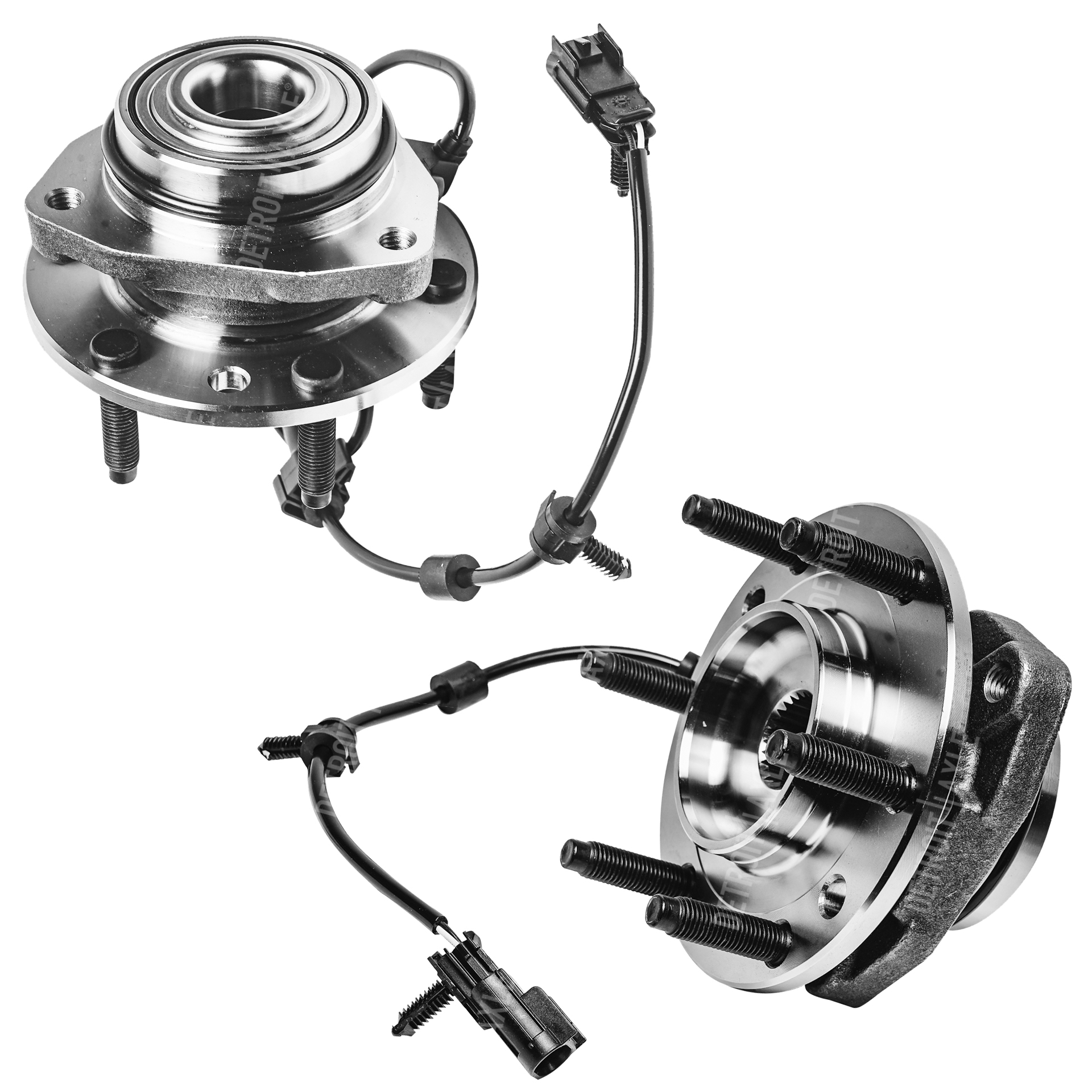 hight resolution of front wheel bearing and hub assembly pair w abs