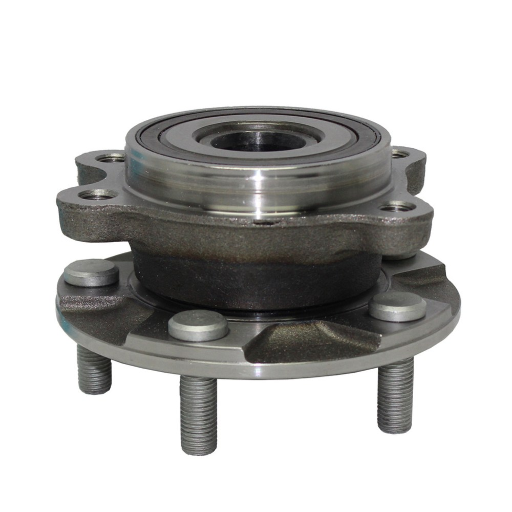 medium resolution of front wheel hub and bearing assembly driver or passenger side rav4 2 5l