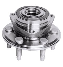 front or rear wheel hub and bearing assembly driver or passenger side [ 1024 x 963 Pixel ]