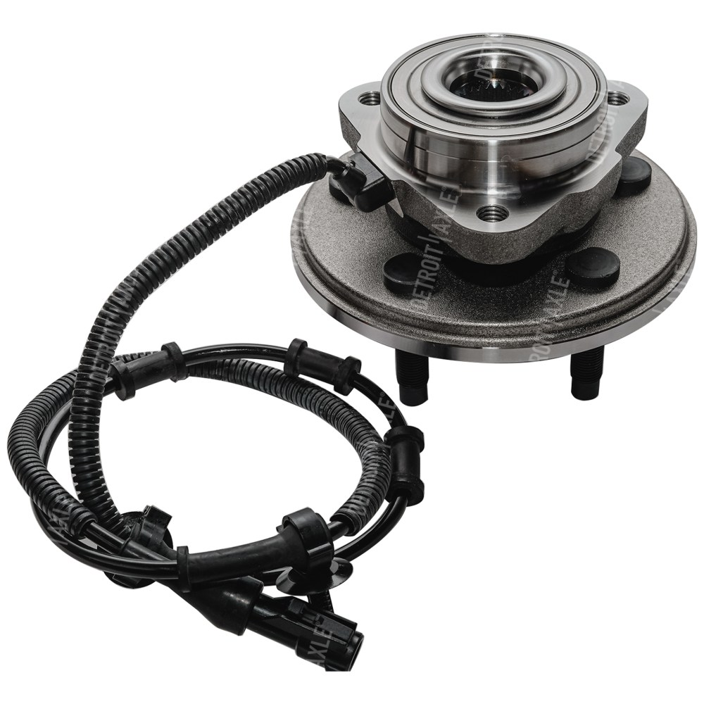 medium resolution of 2002 2005 ford explorer front wheel hub and bearing assembly driver or passenger side
