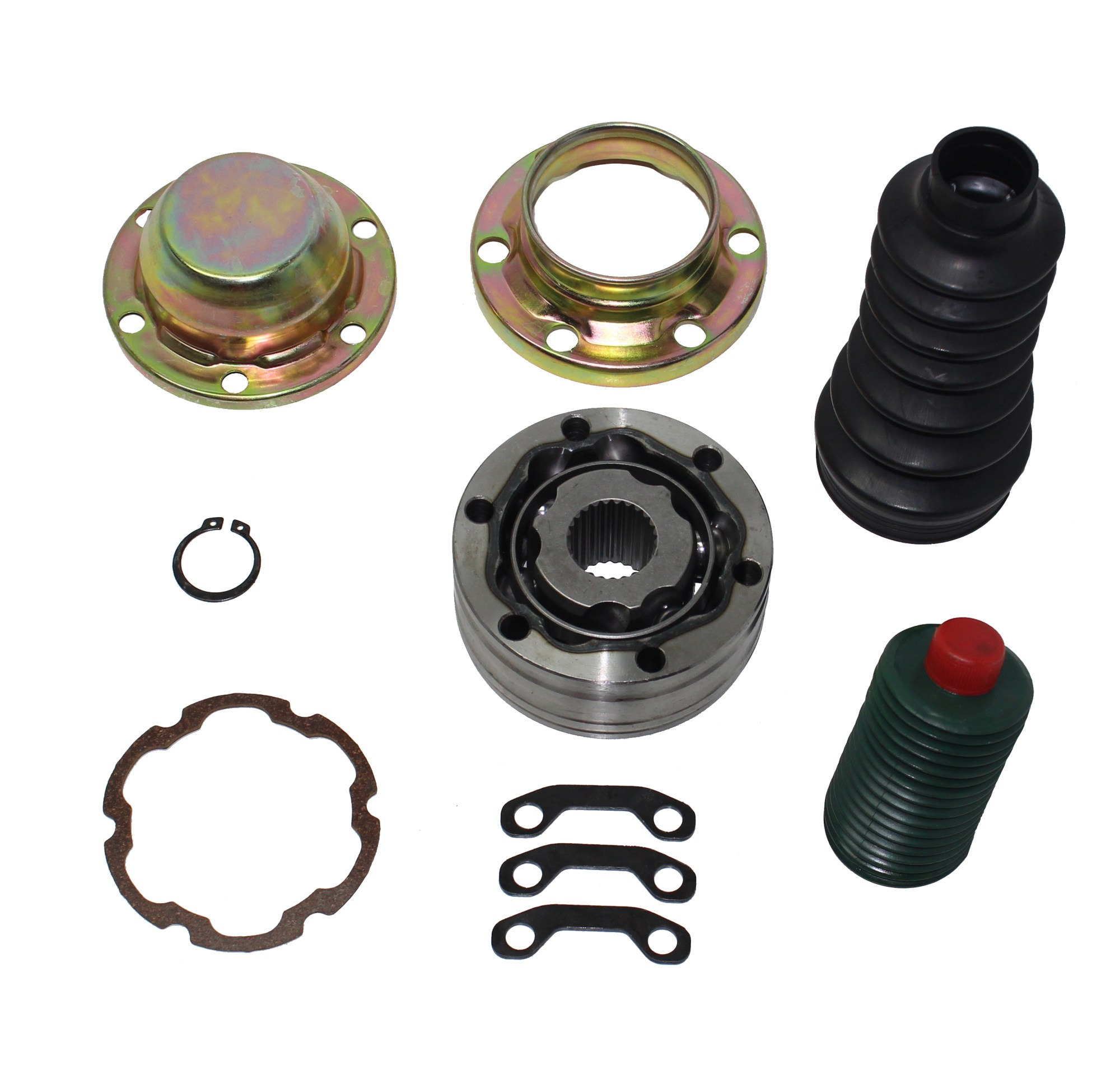 hight resolution of complete front cv drive shaft repair kit fits liberty grand cherokee