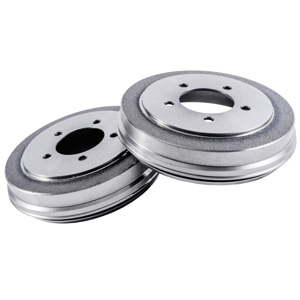 medium resolution of pair 2 rear brake drums 9 drum brake shoes only for 1998