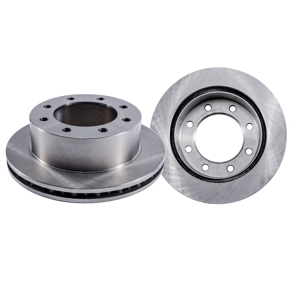 medium resolution of pair 2 front 331 mm disc brake rotors for 1999 ford f250 f350 super
