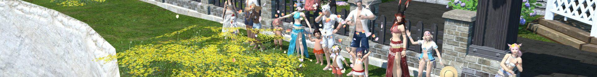 紅蓮祭に合わせて水着集会、メンバーのエタバン