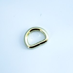 1-2in D-Rings - gold