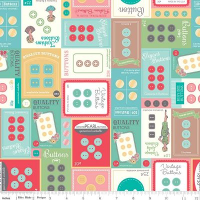 My Happy Place Button Cards multi